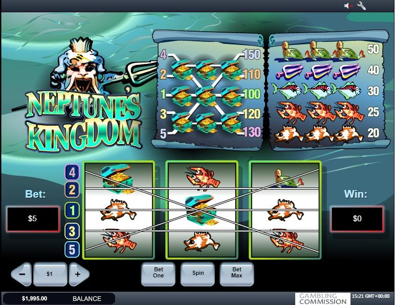 Neptunes Kingdom Slot Machine