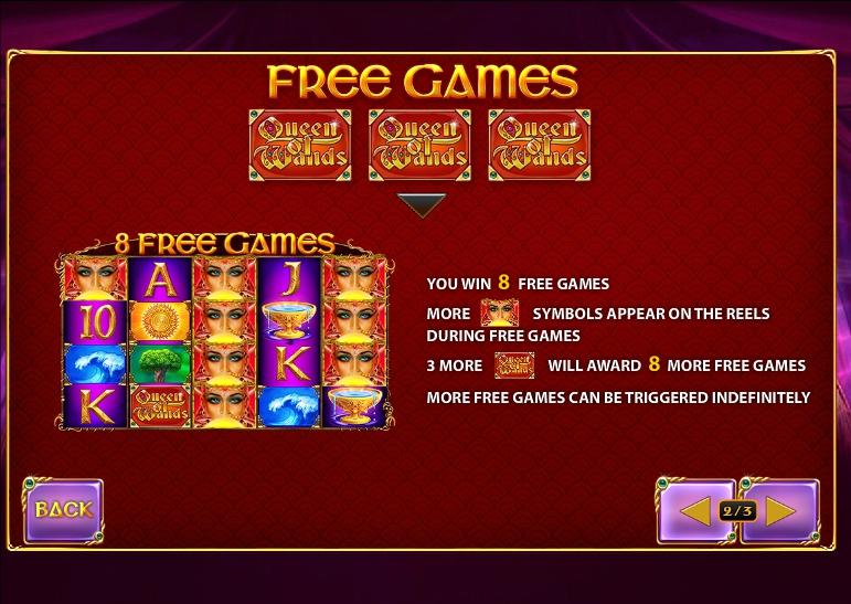 Queen Of Wands Slot Machine