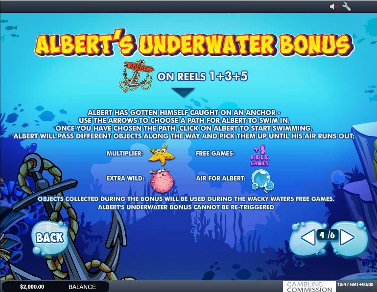 Wacky Waters Slot Machine
