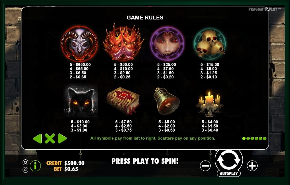 Diablo 13 Slot Machine