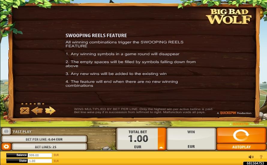 big bad wolf slot machine detail image 1