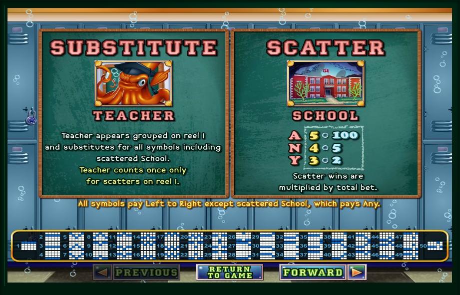 shark school slot machine detail image 6