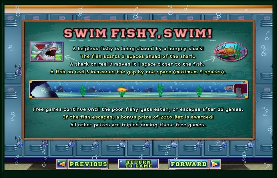 shark school slot machine detail image 3