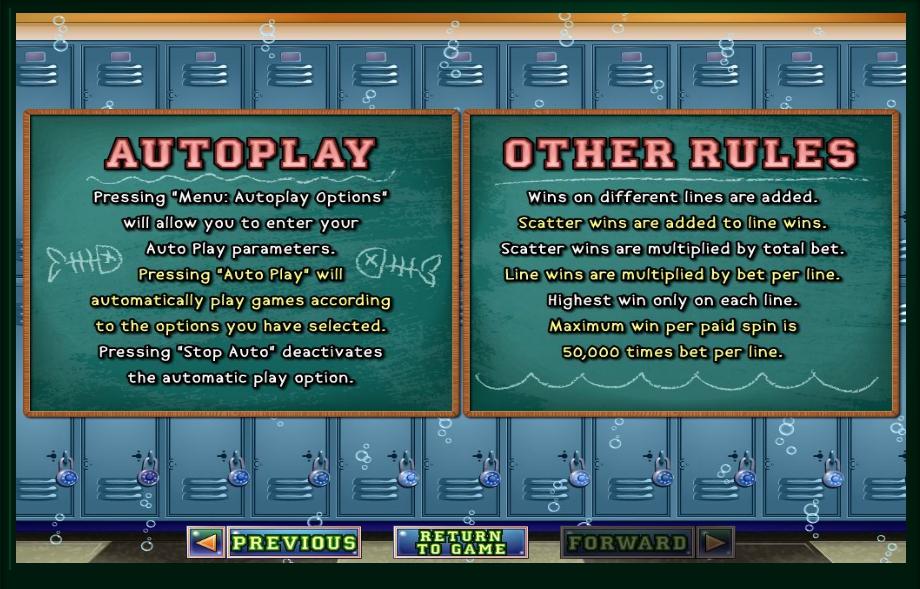 shark school slot machine detail image 0