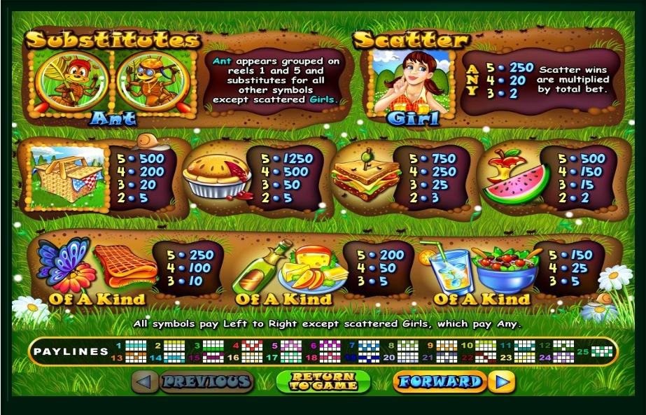Small Fortune Slot Machine