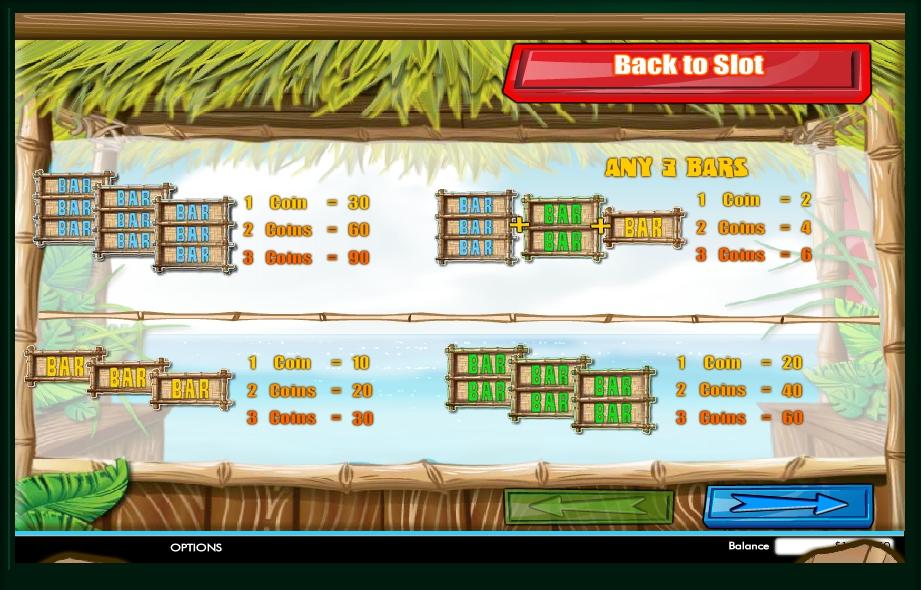Tahiti Time Slot Machine