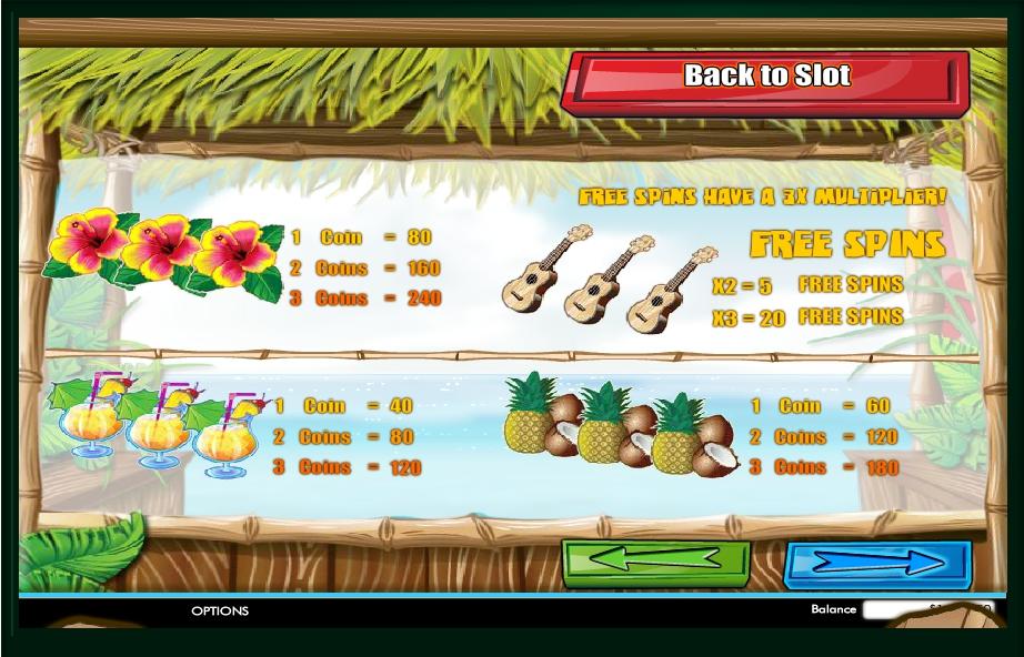 Play Tahiti Time Slot Machine Free With No Download