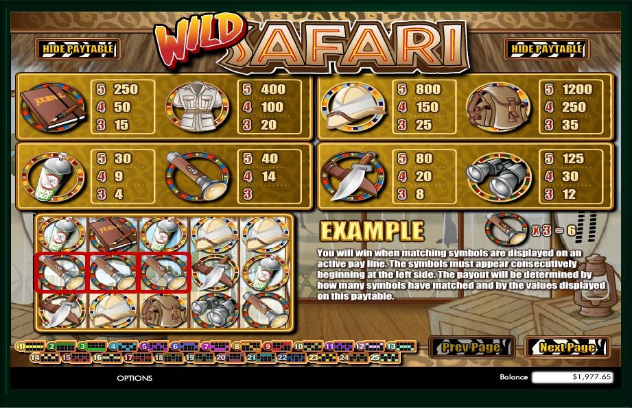 Safari Dream Slot Machine