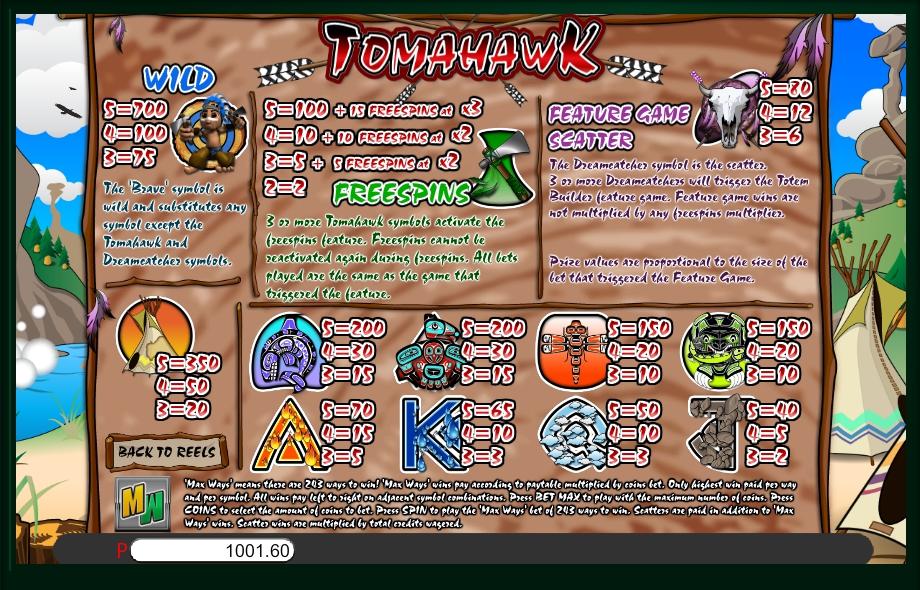Tomahawk Casino