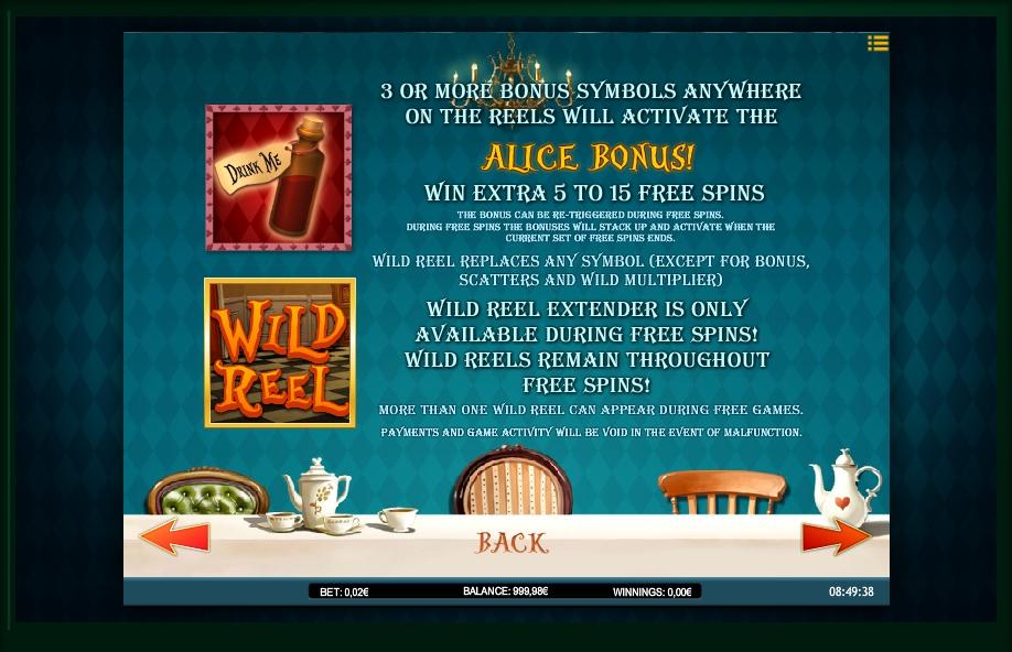 alice adventure slot machine detail image 5