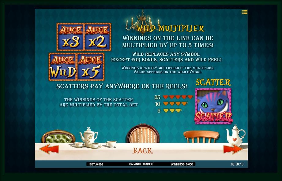 alice adventure slot machine detail image 4