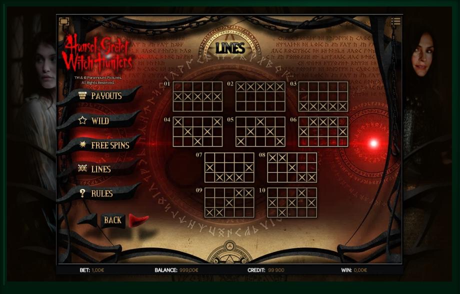 hansel & gretel witch hunters slot machine detail image 1