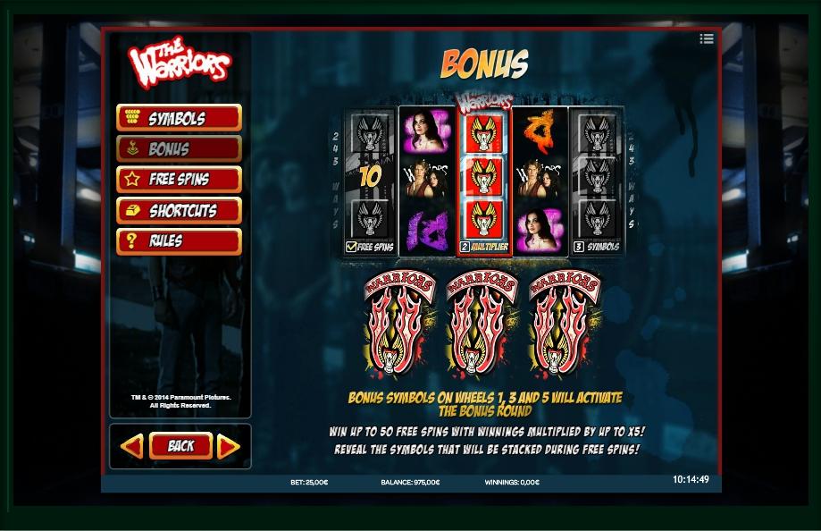 Heavy Metal Warriors Slot Machine