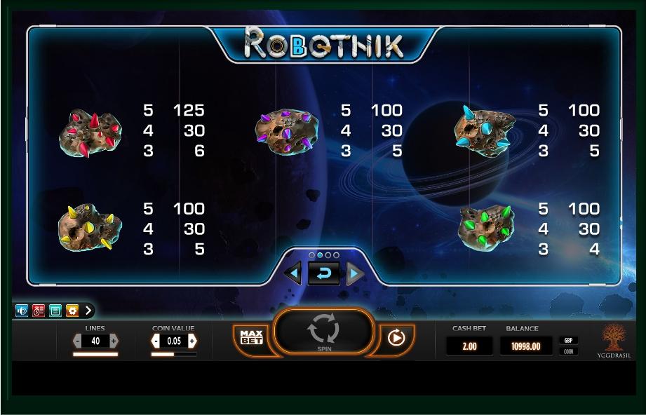 Robotnik Slot Machine