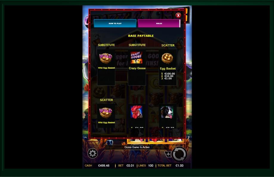 Crazy Goose Slot Machine