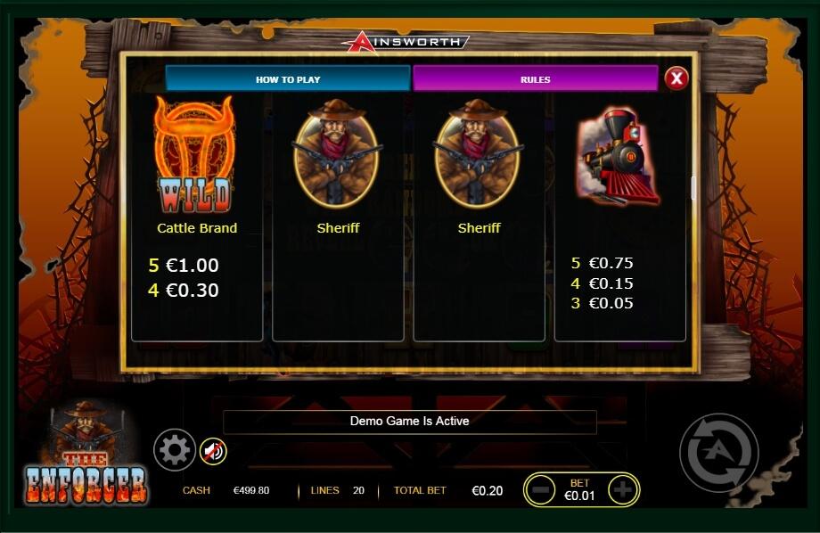 The Enforcer Slot Machine