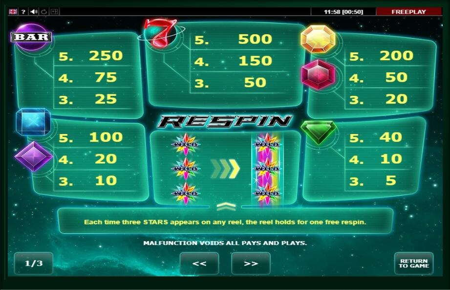 Gem Star Slot Machine
