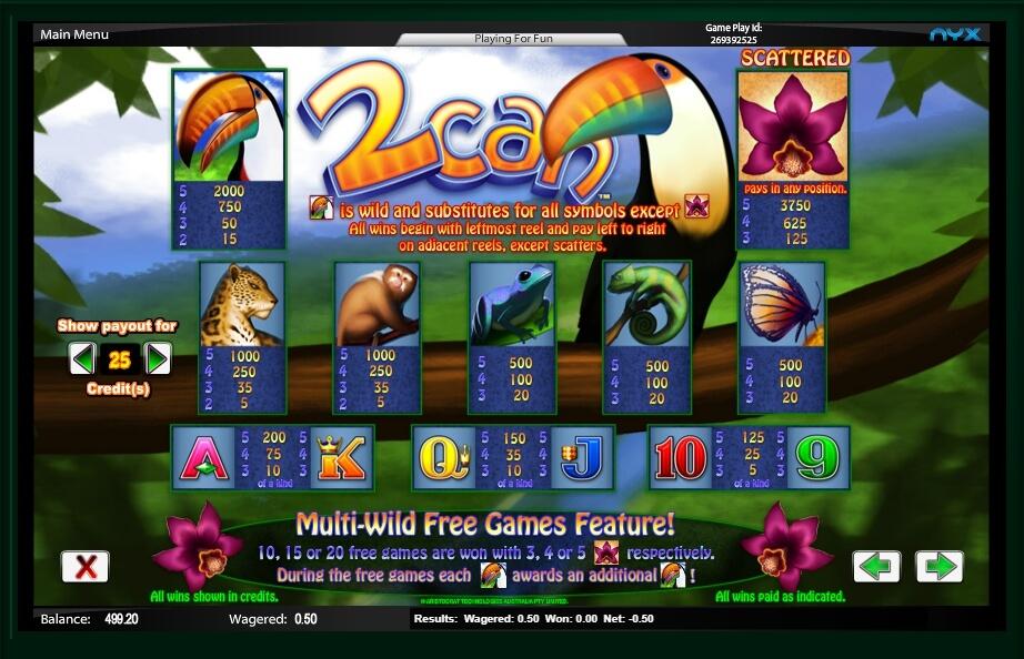 2can slot machine detail image 3