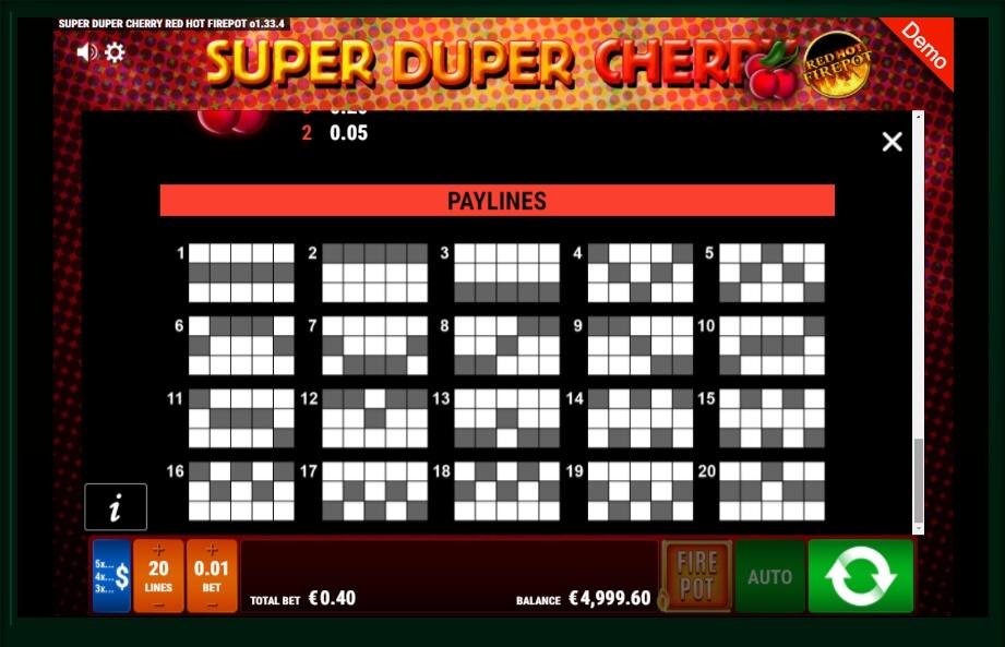 Super Hot Fruits Free Slot
