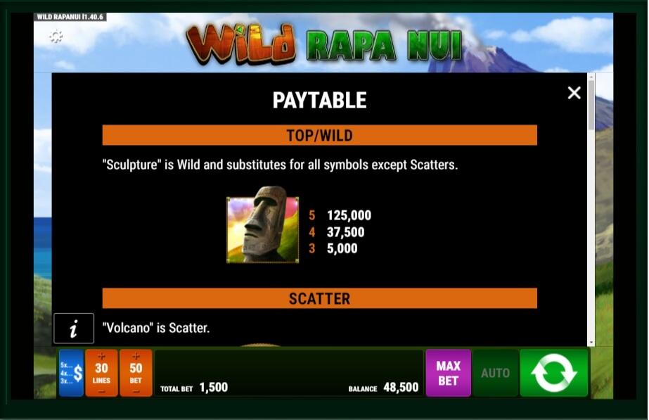 Wild Rapa Nui Slot Machine