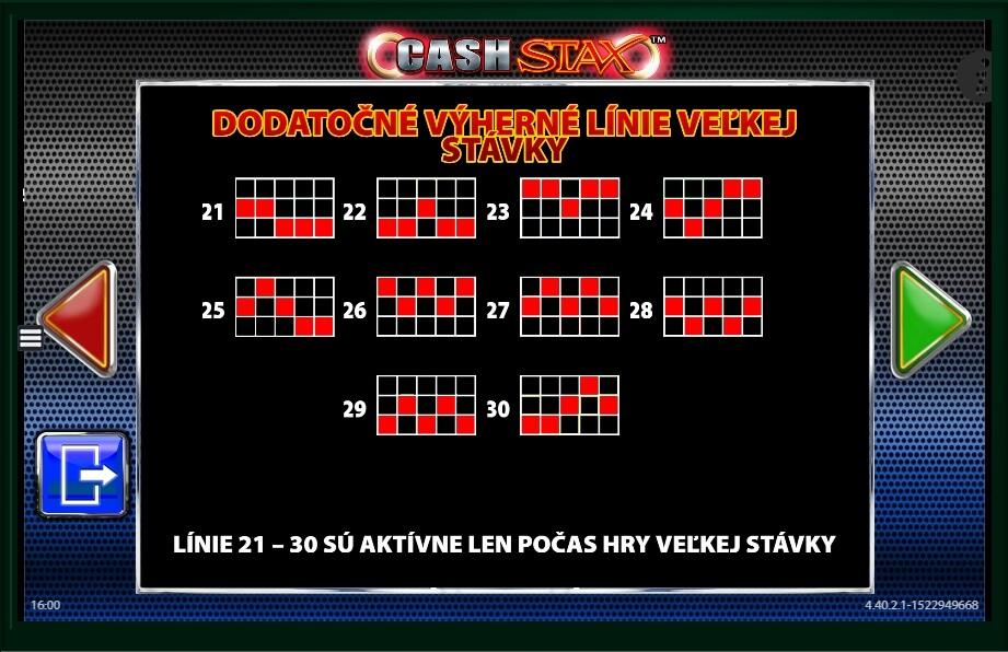 Cash stax slot machine online barcrest bingo ucretsiz