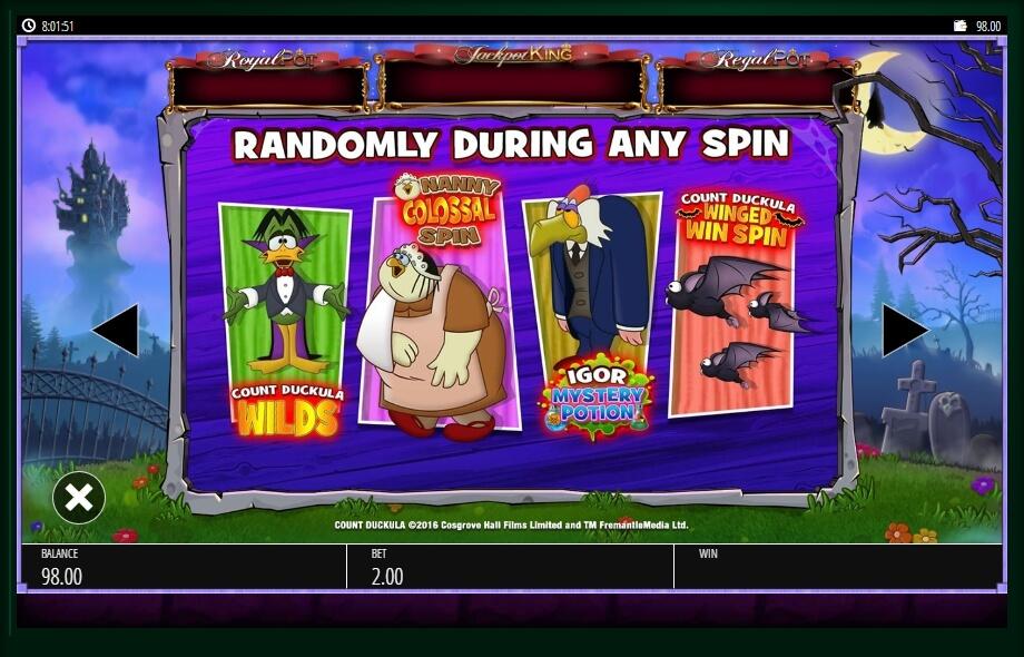 Count Duckula Slot Machine