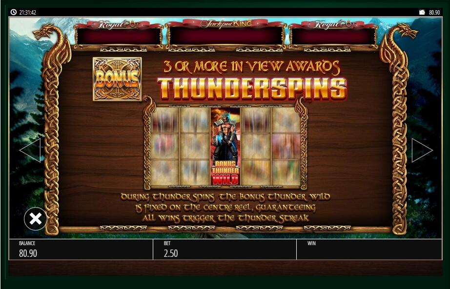 Vikings Of Fortune Slot Machine
