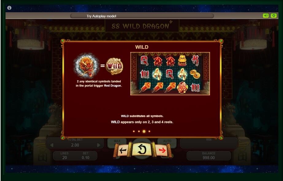88 Wild Dragon Slot Machine