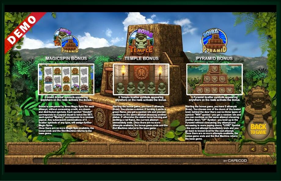 Mayan Temple Revenge Slot Machine