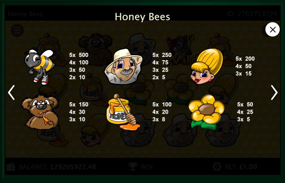 Honey Bees Slot Machine