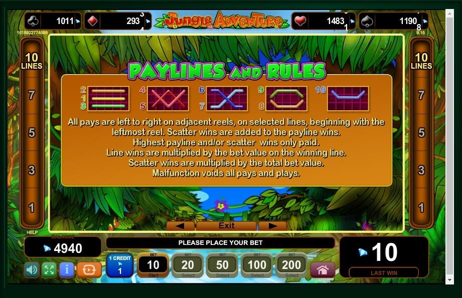 Jungle Adventure Slot Machine
