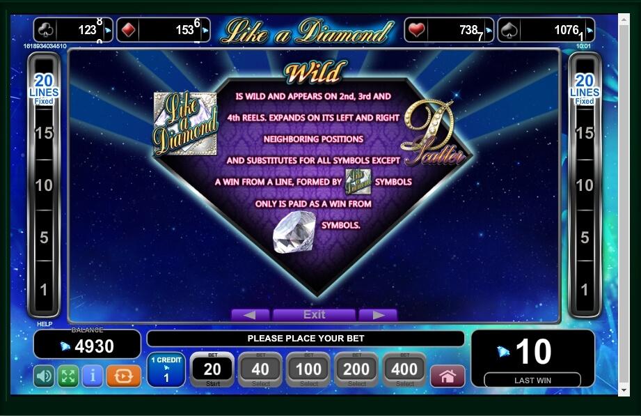 Like A Diamond Slot Machine