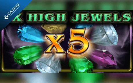 5x high jewels slot machine online