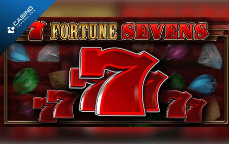 7 fortune sevens slot machine online