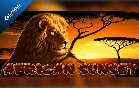 african sunset slot machine online