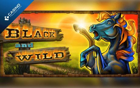 black and wild slot machine online