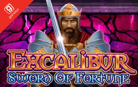 excalibur sword of fortune slot machine online