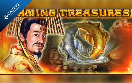 flaming treasures slot machine online