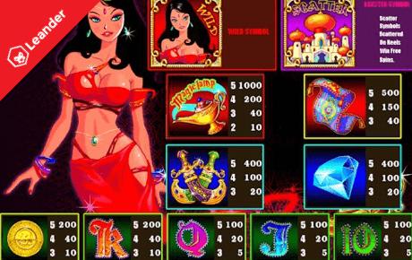 Genies Treasure slot machine