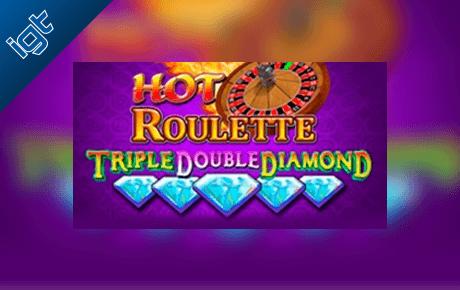 Hot Roulette Triple Double Diamond slot machine