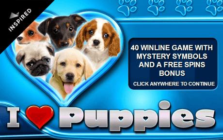 I Heart Puppies slot machine