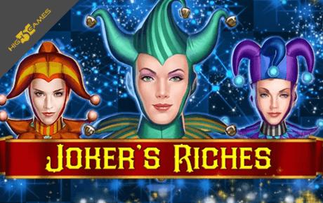 jokers riches slot machine online