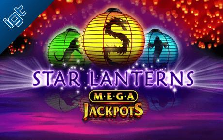 Mega Jackpots Star Lanterns slot machine