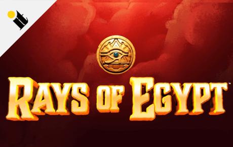 Rays of Egypt slot machine