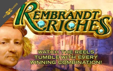 Rembrandt Riches slot machine