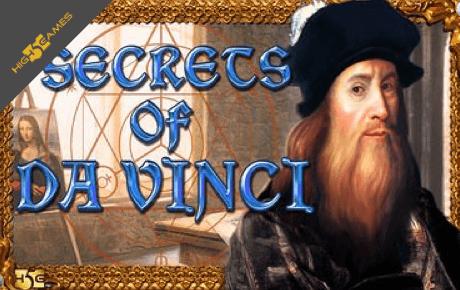 Secrets of Da Vinci slot machine