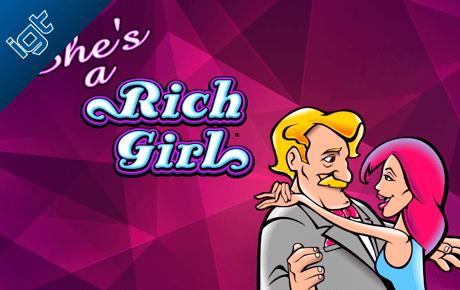 Shes a Rich Girl slot machine