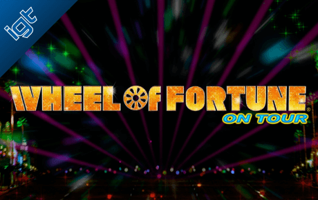 Wheel of Fortune on tour slot machine