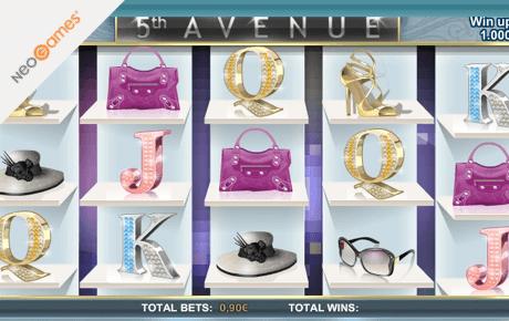 5th avenue slot machine online