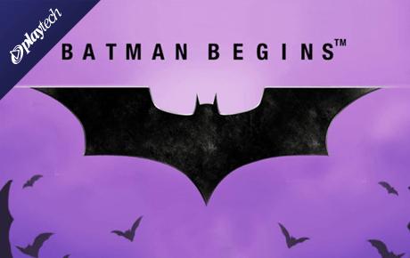 Batman Begins slot machine